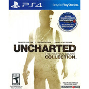 Uncharted Nathan Drake Collection Playstation 4 PS4 used 1st person shooter video game for sale online.