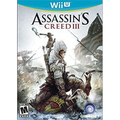 Assassin's Creed III Wii U Nintendo original video game game used for sale online.