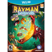 Rayman Legends Wii U Nintendo original video game game used for sale online.