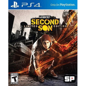 Infamous Second Son Limited Ed. Playstation 4 PS4 used video game for sale online.