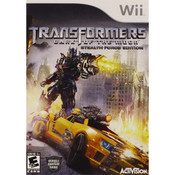 Transformers Dark Side of the Moon Wii Nintendo used video game for sale online.