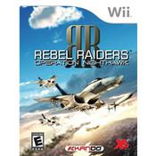 Rebel Raiders Operation Nighthawk Wii Nintendo used video game for sale online.