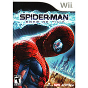 Spider-Man Edge of Time Wii Nintendo used video game for sale online.