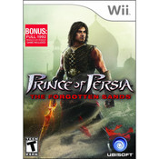 Prince of Persia Forgotten Sands Wii Nintendo used video game for sale online.