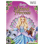 Barbie as the Island Princess Wii Nintendo used video game for sale online.