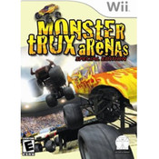 Monster Trux Arenas Special Edition Wii Nintendo used video game for sale online.
