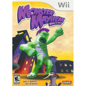 Monster Mayhem Build and Battle Wii Nintendo used video game for sale online.