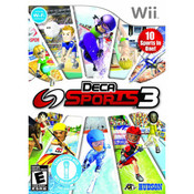 Deca Sports 3 Wii Nintendo used video game for sale online.
