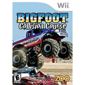 Big Foot Collision Course Wii Nintendo used video game for sale online.