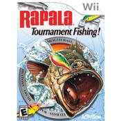 Rapala Tournament Fishing Wii Nintendo used video game for sale online.