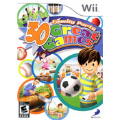 Family Party 30 Great Games Wii Nintendo used video game for sale online.
