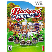 Backyard Football '10 Wii Nintendo used video game for sale online.