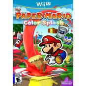 Paper Mario Color Splash  Wii U Nintendo original video game game used for sale online.