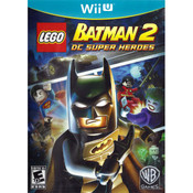 Lego Batman 2 DC Super Heroes Wii U Nintendo original video game game used for sale online.