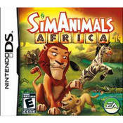 SimAnimals Africa Nintendo DS used video game for sale online.