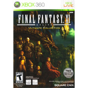 Final Fantasy XI Online Ultimate Collection Xbox 360 used video game for sale online.