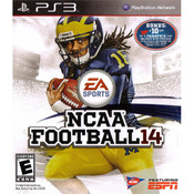 NCAA Football 14 Playstation 3 PS3 Used Video Game For Sale Online.