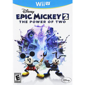 Epic Mickey 2 Power of Two Wii U Nintendo original video game game used for sale online.