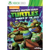 Teenage Mutant Ninja Turtles Danger of the Ooze Microsoft Xbox 360 used video game for sale online.