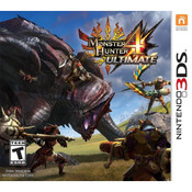 Monster Hunter 4 Ultimate Nintendo 3DS used video game for sale.