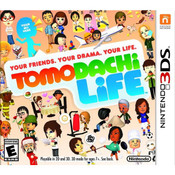 Tomodachi Life Nintendo 3DS used video game for sale.