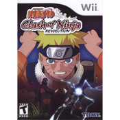 Naruto Clash of the Ninja Revolution Wii Nintendo used video game for sale online.