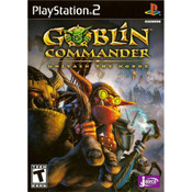 Goblin Commander Unleash the Horde Playstation 2 PS2 used video game for sale online.