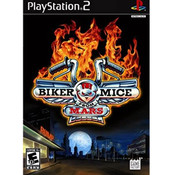Biker Mice From Mars Playstation 2 PS2 used video game for sale online.