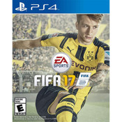 Fifa 17 Sony Playstation 4 PS4 used video game for sale online.