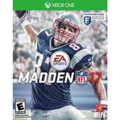 Madden 17 Microsoft Xbox One used video game for sale online.