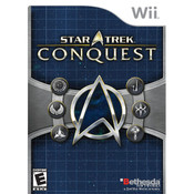 Star Trek Conquest Wii Nintendo used video game for sale online.