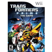 Transformers Prime Wii Nintendo used video game for sale online.