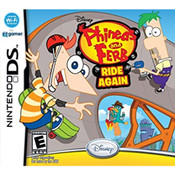 Phineas and Ferb Ride Again Nintendo DS Used Video Game For Sale Online.