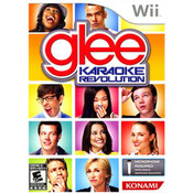 Karaoke Revolution Glee (Mic Not Included) Wii Nintendo used video game for sale online.