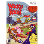 Wacky Races Crash & Dash Wii Nintendo used video game for sale online.