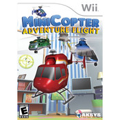 MiniCopter Adventure Flight Wii Nintendo used video game for sale online.