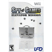 Spy Games Elevator Mission Wii Nintendo used video game for sale online.