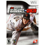 Major League Baseball MLB 2k9 Wii Nintendo used video game for sale online.