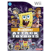 NickToons Attack of the Toybots Wii Nintendo used video game for sale online.