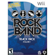 Rock Band Track Pack Vol 1 Wii Nintendo used video game for sale online.
