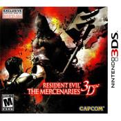 Resident Evil The Mercenaries 3D 3DS Nintendo used video game for sale online.