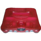 Nintendo 64 Player Pak Watermelon Red