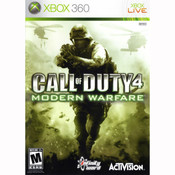 Call of Duty 4 Modern Warfare - Xbox 360 Game