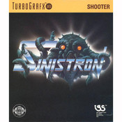 Sinistron NEC Home Electronics Turbo Grafx 16 Video Game For Sale | DKOldies