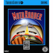 Moto Roader NEC Home Electronics Turbo Grafx 16 Video Game For Sale | DKOldies