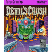 Devils's Crush NEC Home Electronics Turbo Grafx 16 Video Game For Sale | DKOldies