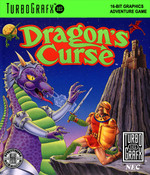 Dragon's Curse NEC Turbo Grafx 16 Video Game HuCard