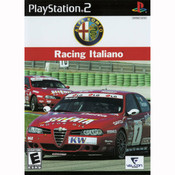 Alfa Romeo Racing Italiano Video Game for Sony PlayStation 2