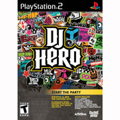 DJ Hero Video Game for Sony PlayStation 2