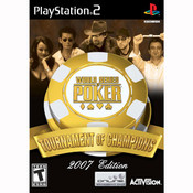 World Series of Poker Tournament of Champions 2007 Video Game for Sony Playstation 2
